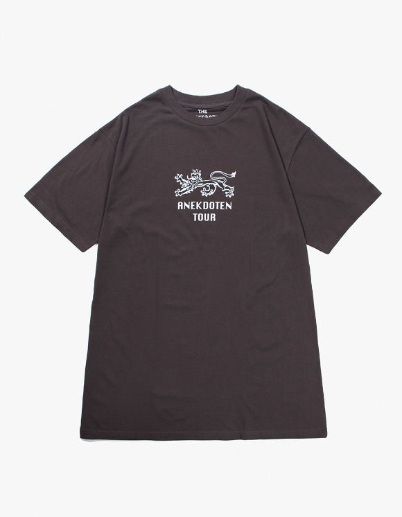 Beasts And Natives Alike ANEKDOTEN Tee - Grey | HEIGHTS. | 하이츠 온라인 스토어