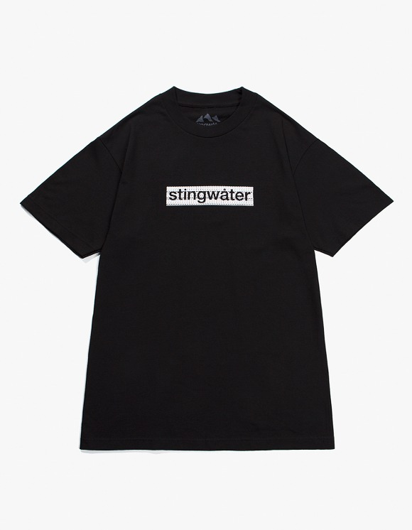 Stingwater Logo S/S Tee - Black | HEIGHTS. | 하이츠 온라인 스토어