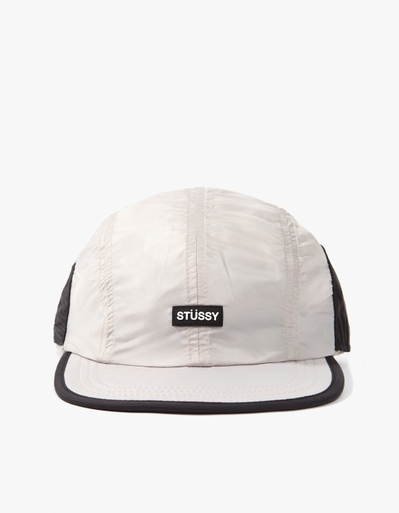 Stussy Myrtle Sunguard Camp Cap - Off White | HEIGHTS. | 하이츠 온라인 스토어