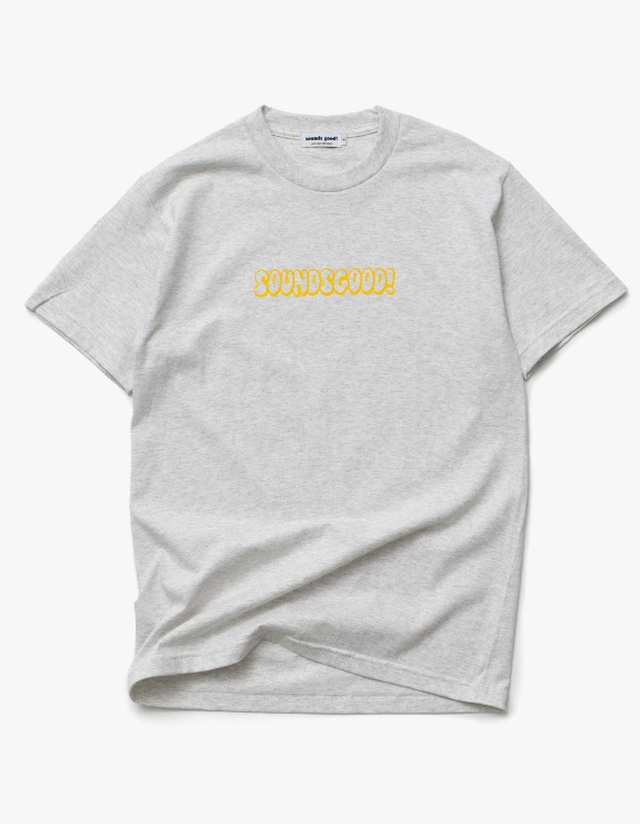 sounds good! SG Bubble Logo Tee - Ash | HEIGHTS. | 하이츠 온라인 스토어
