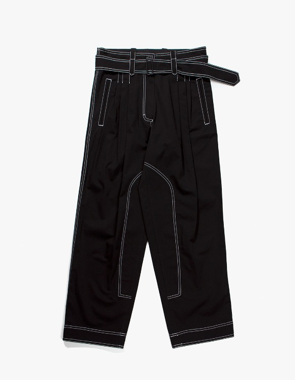 Gliese 581 Stitched two tuck pants with belt | HEIGHTS. | 하이츠 온라인 스토어
