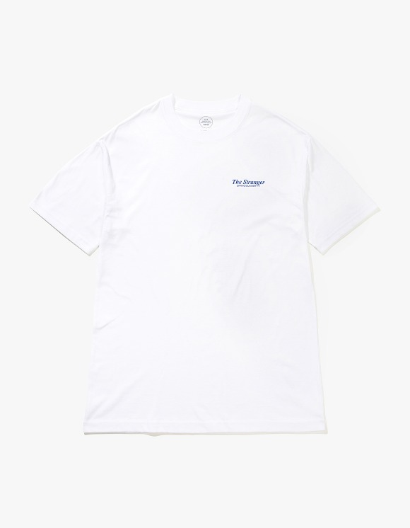 Beasts And Natives Alike The Stranger T-shirts - White/Blue | HEIGHTS. | 하이츠 온라인 스토어