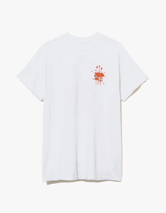 Wind & Sea Singboard T-shirts - White | HEIGHTS. | 하이츠 온라인 스토어