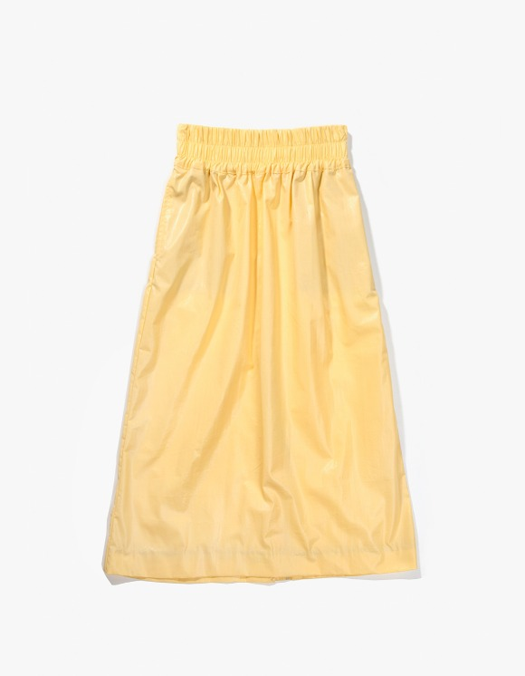 Gliese 581 Side Piping Midi Skirt - Yellow | HEIGHTS. | 하이츠 온라인 스토어