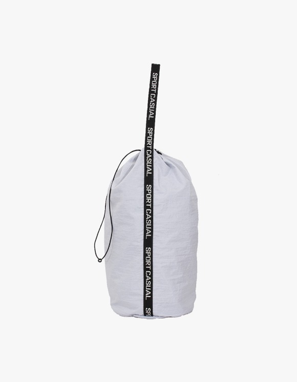 Heritage Floss Nylon Diamond Washer Sports Bag - White | HEIGHTS. | 하이츠 온라인 스토어