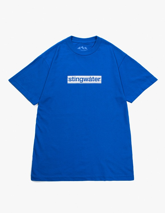 Stingwater Logo S/S Tee - Royal Blue | HEIGHTS. | 하이츠 온라인 스토어