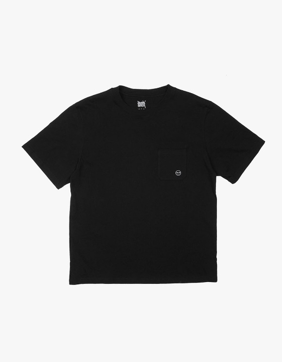 BROWNBREATH BB Pocket TEE - Black | HEIGHTS. | 하이츠 온라인 스토어
