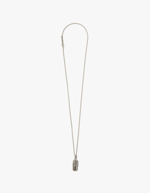 Kruchi lab Tabelt Necklace - Silver | HEIGHTS. | 하이츠 온라인 스토어