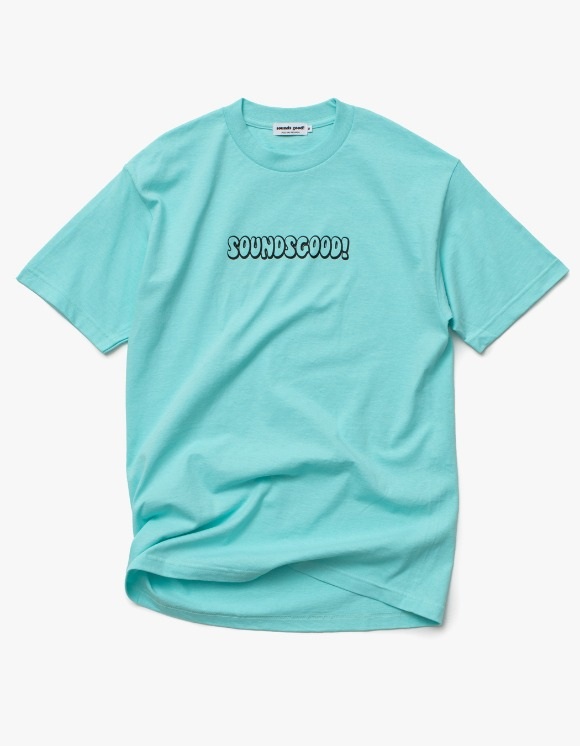 sounds good! SG Bubble Logo Tee - Celadon | HEIGHTS. | 하이츠 온라인 스토어