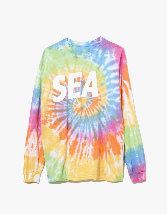 Wind & Sea Cut-Sewin Tie Dye L/S Tee - Eternity | HEIGHTS. | 하이츠 온라인 스토어