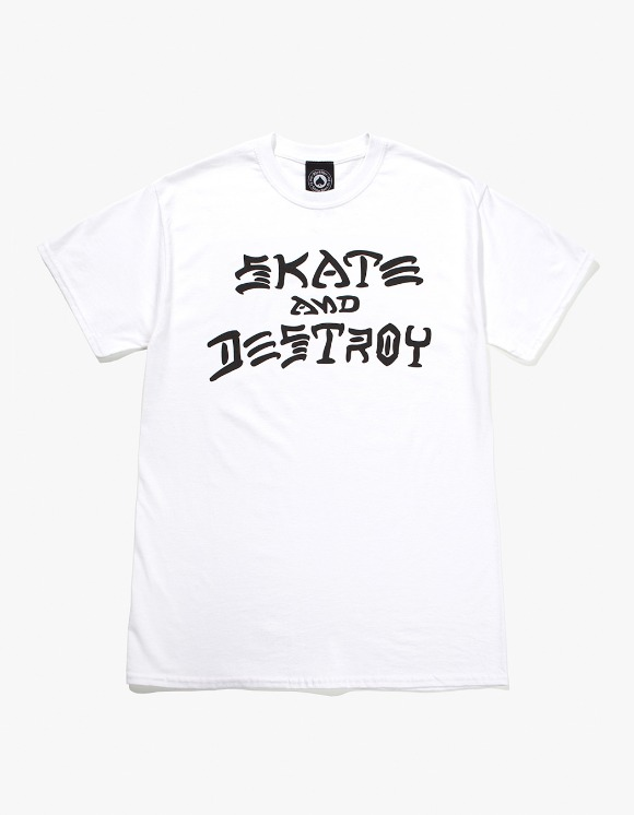 Thrasher Skate And Destroy S/S Tee - White | HEIGHTS. | 하이츠 온라인 스토어