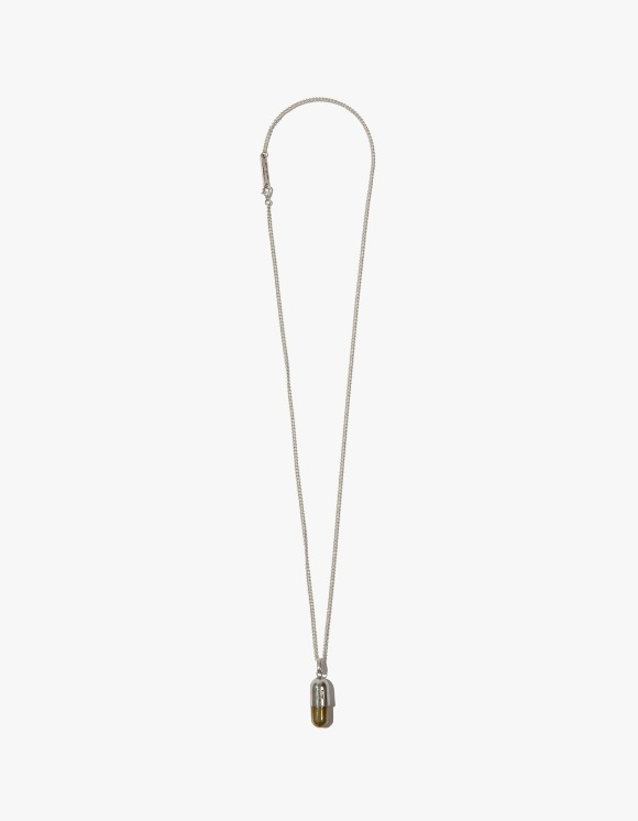 Kruchi lab Tabelt Necklace - Silver,Brass | HEIGHTS. | 하이츠 온라인 스토어