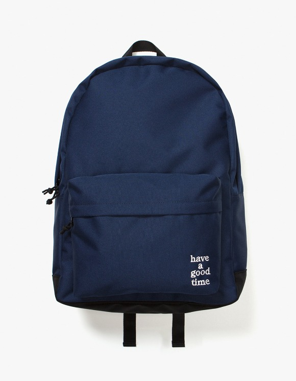 have a good time Logo Backpack - Midnight Blue | HEIGHTS. | 하이츠 온라인 스토어