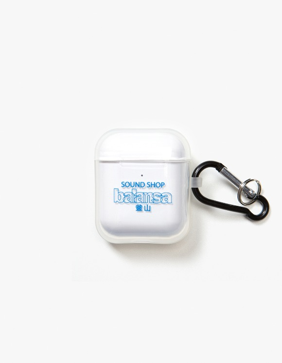 Balansa Balansa AirPods Case - Clear/Blue | HEIGHTS. | 하이츠 온라인 스토어
