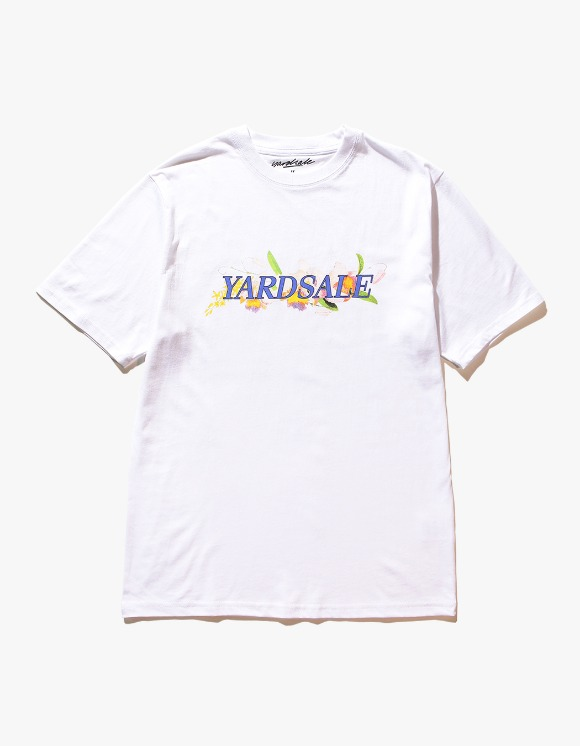 Yard Sale Floral S/S Tee - White | HEIGHTS. | 하이츠 온라인 스토어