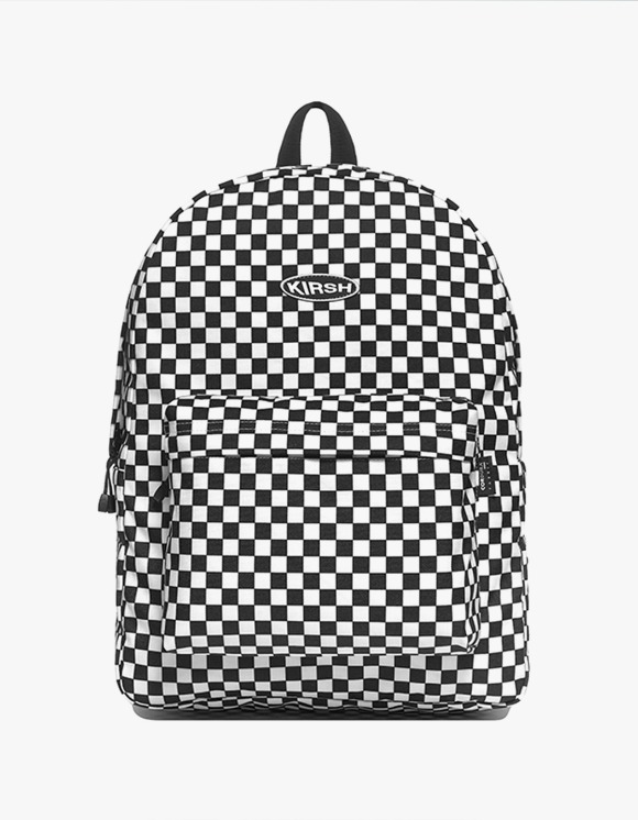 KIRSH KIRSH POCKET CIRCLE LOGO BACKPACK IA  - WHITE | HEIGHTS. | 하이츠 온라인 스토어