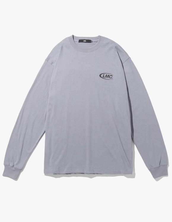 LMC LMC TRIPLE CO LONG SLV TEE gray | HEIGHTS. | 하이츠 온라인 스토어