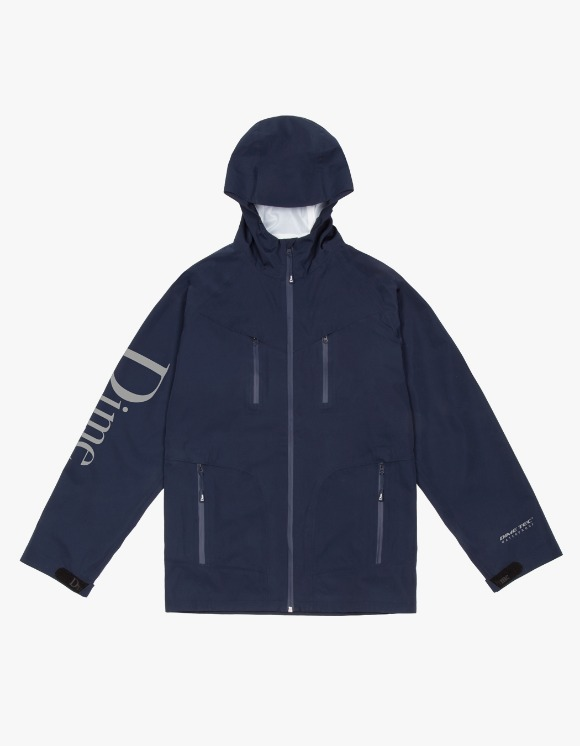 Dime Classic Logo Shell Jacket - Navy | HEIGHTS. | 하이츠 온라인 스토어