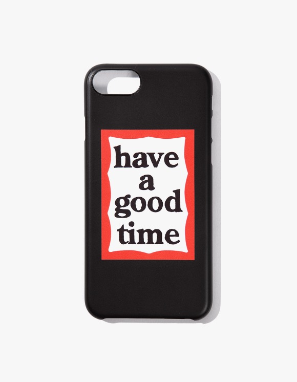 have a good time Frame iPhone Case 6/7/8 - Black | HEIGHTS. | 하이츠 온라인 스토어