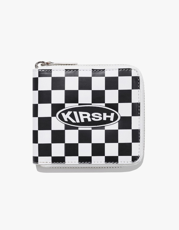 KIRSH KIRSH POCKET CIRCLE LOGO WALLET IA - WHITE | HEIGHTS. | 하이츠 온라인 스토어