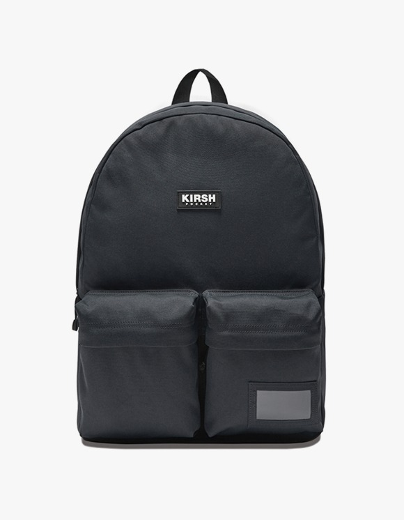 KIRSH KIRSH POCKET TWO POCKET BACKPACK IA  - GRAY | HEIGHTS. | 하이츠 온라인 스토어