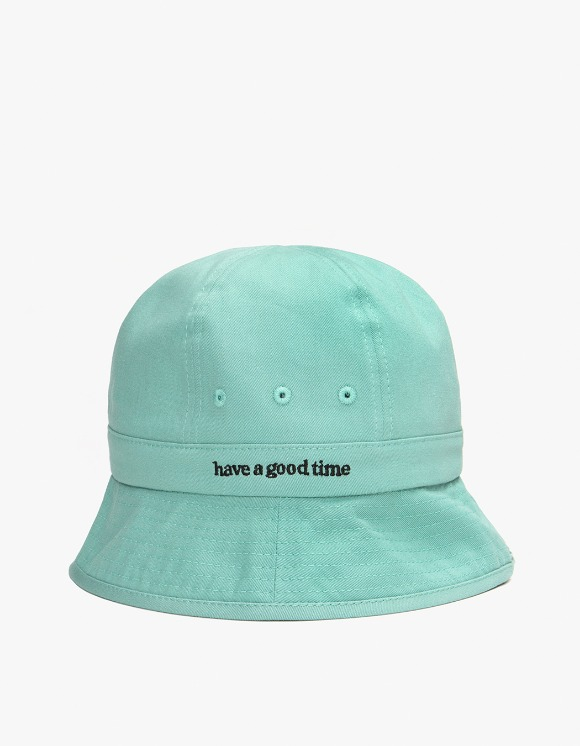 have a good time Side Logo Bucket Hat - Pistachio | HEIGHTS. | 하이츠 온라인 스토어