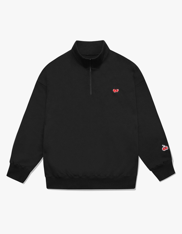 KIRSH SMALL CHERRY SWEATSHIRT IA  - BLACK | HEIGHTS. | 하이츠 온라인 스토어