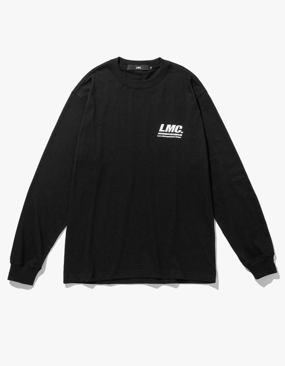 LMC LMC ACTIVE GEAR LONG SLV TEE black | HEIGHTS. | 하이츠 온라인 스토어