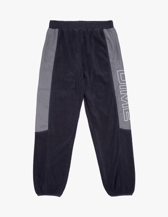 Dime Polar Fleece Track Pants - Navy/Charcoal | HEIGHTS. | 하이츠 온라인 스토어