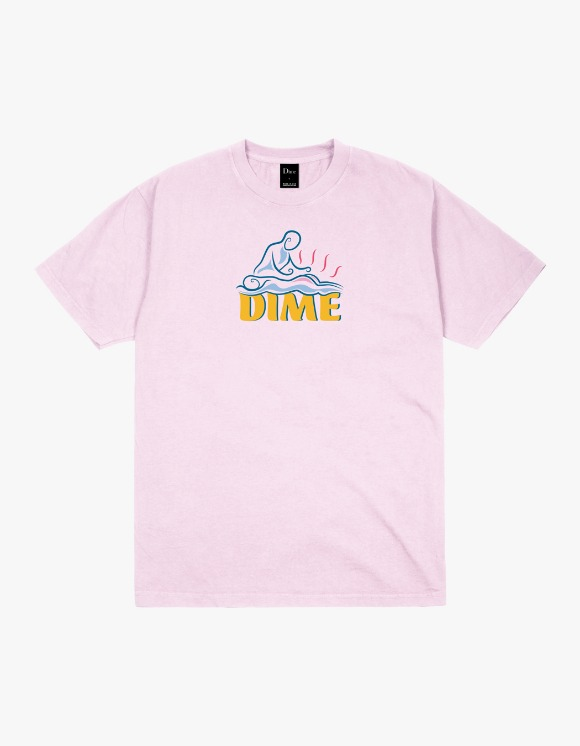 Dime Relief S/S Tee - Light Pink | HEIGHTS. | 하이츠 온라인 스토어