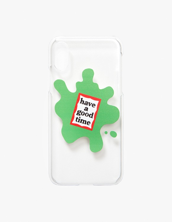 have a good time Amoeba iPhone Case X/XS - Clear | HEIGHTS. | 하이츠 온라인 스토어