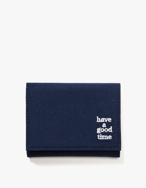 have a good time Logo Wallet - Midnight Blue | HEIGHTS. | 하이츠 온라인 스토어