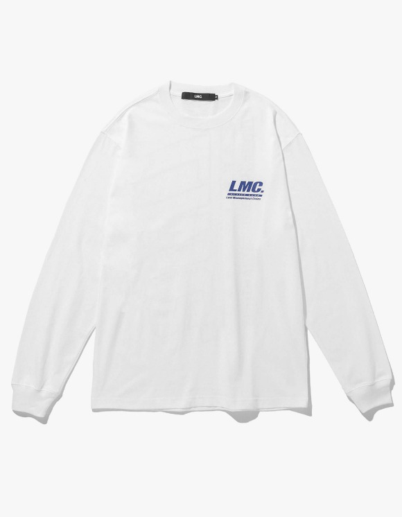 LMC LMC ACTIVE GEAR LONG SLV TEE white | HEIGHTS. | 하이츠 온라인 스토어