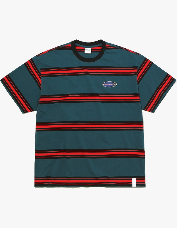 thisisneverthat NEW SPORT Striped Tee - Blue Green | HEIGHTS. | 하이츠 온라인 스토어