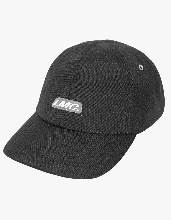 LMC LMC ITALIC POLY 6 PANEL CAP black | HEIGHTS. | 하이츠 온라인 스토어
