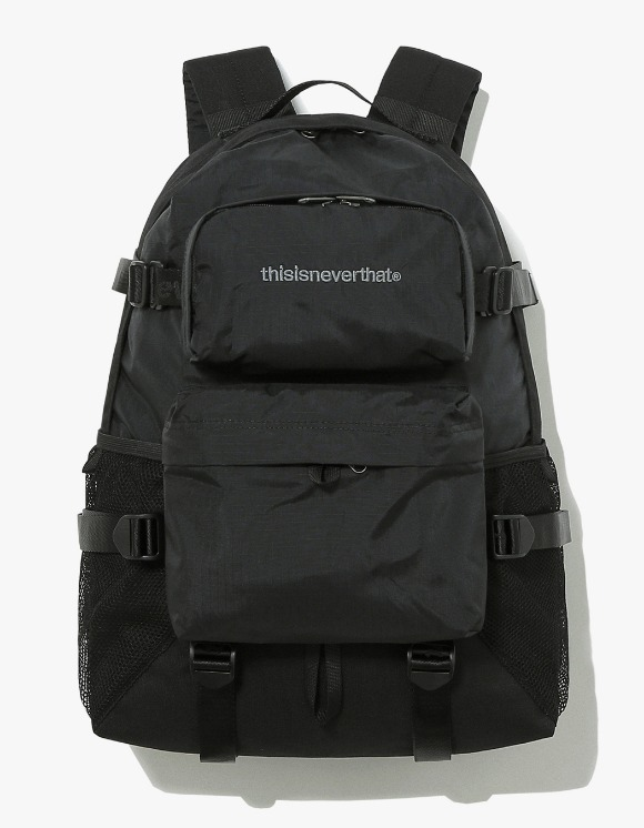 thisisneverthat CORDURA® 750D Nylon 2P Backpack - Black | HEIGHTS. | 하이츠 온라인 스토어