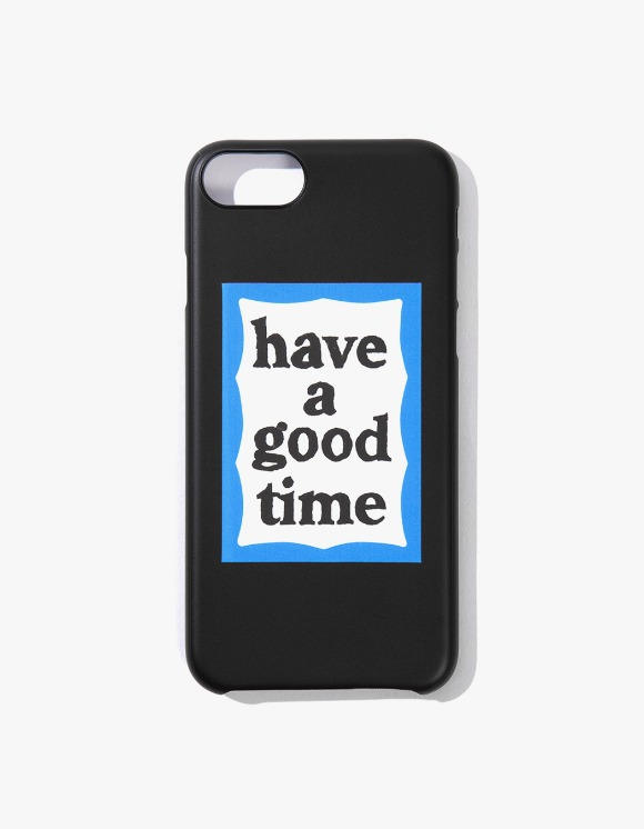 have a good time Blue Frame iPhone Case 6/7/8 - Black | HEIGHTS. | 하이츠 온라인 스토어