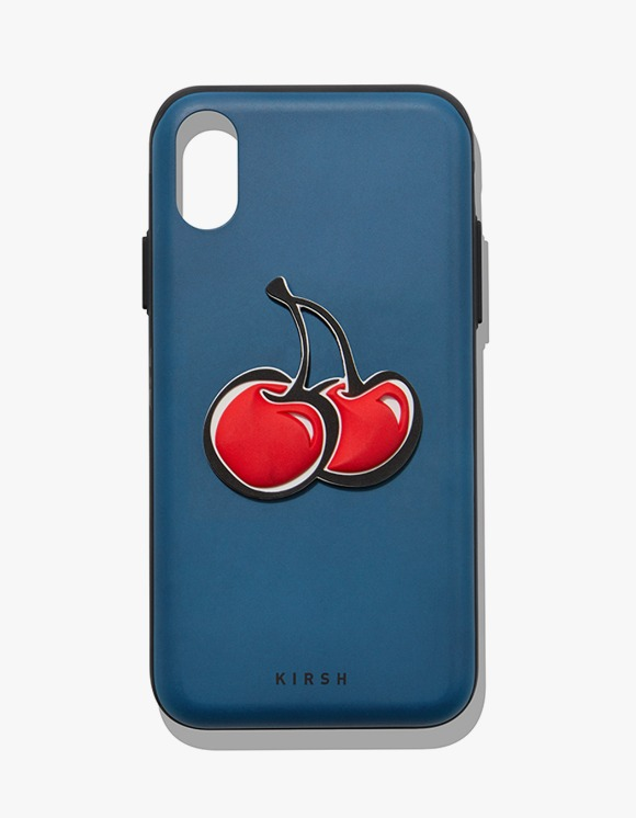 KIRSH [17일 예약발송]BIG CHERRY MIRROR PHONE CASE IA - BLUE | HEIGHTS. | 하이츠 온라인 스토어