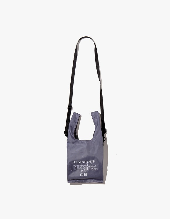 HEIGHTS. Heights. Logo Shoulder Bag - Charcoal | HEIGHTS. | 하이츠 온라인 스토어