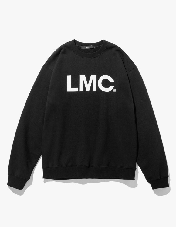 LMC LMC OG WHEEL SWEATSHIRT black | HEIGHTS. | 하이츠 온라인 스토어