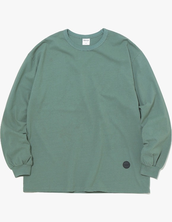 thisisneverthat Rubber C-Logo L/SL Top -  Olive | HEIGHTS. | 하이츠 온라인 스토어