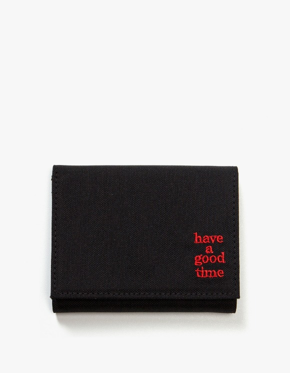 have a good time Logo Wallet - Black | HEIGHTS. | 하이츠 온라인 스토어