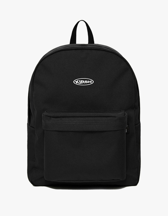 KIRSH KIRSH POCKET CIRCLE LOGO BACKPACK IA  - BLACK | HEIGHTS. | 하이츠 온라인 스토어