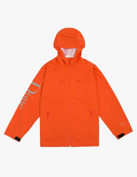 Dime Classic Logo Shell Jacket - Orange | HEIGHTS. | 하이츠 온라인 스토어