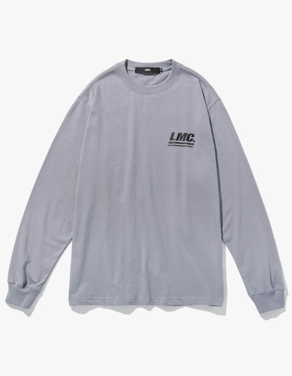 LMC LMC ACTIVE GEAR LONG SLV TEE gray | HEIGHTS. | 하이츠 온라인 스토어