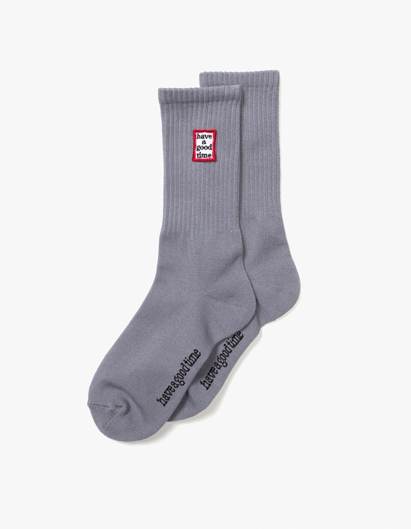 have a good time Frame Socks - Heather Grey | HEIGHTS. | 하이츠 온라인 스토어