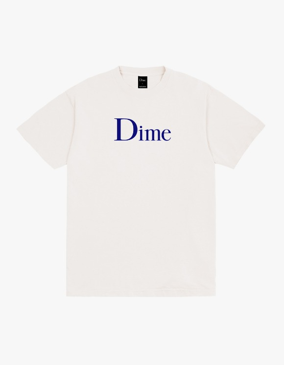 Dime Dime Classic Logo S/S Tee - Off White | HEIGHTS. | 하이츠 온라인 스토어