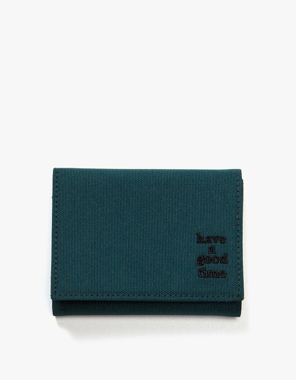 have a good time Logo Wallet - Smokey Green | HEIGHTS. | 하이츠 온라인 스토어