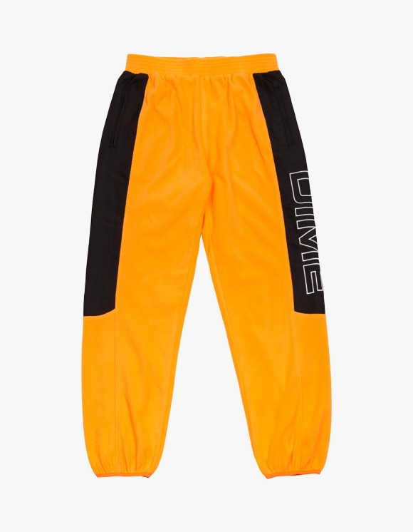 Dime Polar Fleece Track Pants - Gold/Black | HEIGHTS. | 하이츠 온라인 스토어