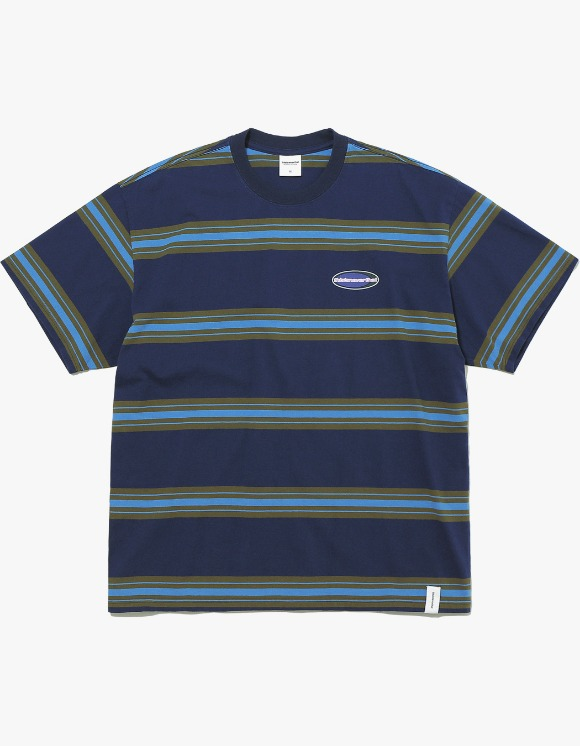 thisisneverthat NEW SPORT Striped Tee - Navy | HEIGHTS. | 하이츠 온라인 스토어